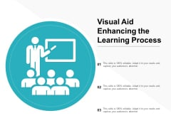 Visual Aid Enhancing The Learning Process Ppt PowerPoint Presentation Infographics Vector
