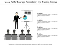 Visual Aid For Business Presentation And Training Session Ppt PowerPoint Presentation Model Design Ideas