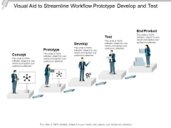 Visual Aid To Streamline Workflow Prototype Develop And Test Ppt PowerPoint Presentation Styles Graphics Design