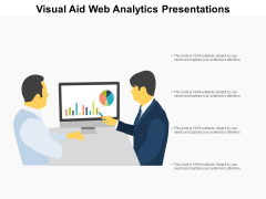 Visual Aid Web Analytics Presentations Ppt PowerPoint Presentation Infographics Elements