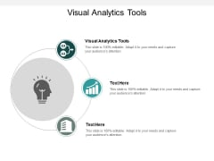 Visual Analytics Tools Ppt PowerPoint Presentation Inspiration Format Cpb