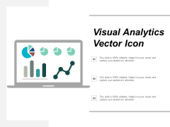 Visual Analytics Vector Icon Ppt Powerpoint Presentation Infographics Show