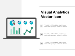 Visual Analytics Vector Icon Ppt PowerPoint Presentation Visual Aids Show