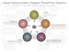 Visual Communication Diagram Powerpoint Graphics