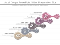 Visual Design Powerpoint Slides Presentation Tips