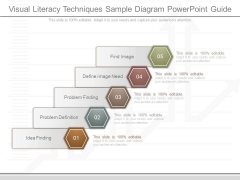 Visual Literacy Techniques Sample Diagram Powerpoint Guide