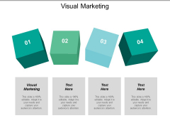 Visual Marketing Ppt PowerPoint Presentation Summary Grid Cpb