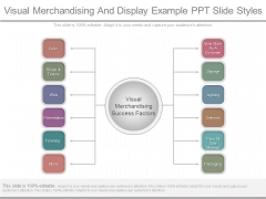 Visual Merchandising And Display Example Ppt Slide Styles