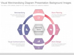 Visual Merchandising Diagram Presentation Background Images