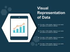 Visual Representation Of Data Ppt PowerPoint Presentation Icon Sample