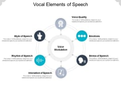 Vocal Elements Of Speech Ppt PowerPoint Presentation Outline Graphics Pictures