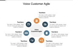 Voice Customer Agile Ppt PowerPoint Presentation Pictures Infographic Template Cpb Pdf
