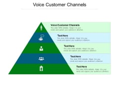 Voice Customer Channels Ppt PowerPoint Presentation Gallery Master Slide Cpb Pdf