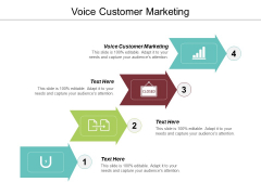 Voice Customer Marketing Ppt PowerPoint Presentation Infographic Template Graphic Tips Cpb