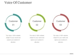 Voice Of Customer Tamplate 3 Ppt PowerPoint Presentation Sample