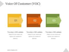Voice Of Customer Voc Ppt PowerPoint Presentation Inspiration