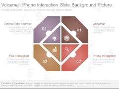 Voicemail Phone Interaction Slide Background Picture