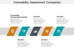 Vulnerability Assessment Companies Ppt PowerPoint Presentation Outline Graphics Design Cpb
