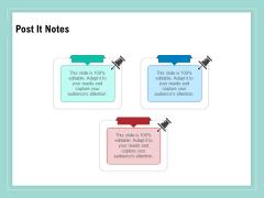 Vulnerability Assessment Methodology Post It Notes Ppt Infographic Template Portrait PDF