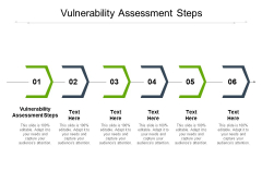 Vulnerability Assessment Steps Ppt PowerPoint Presentation Model Icon Cpb