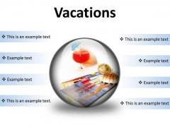 Vacations Beach PowerPoint Presentation Slides C