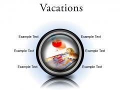 Vacations Beach PowerPoint Presentation Slides Cc
