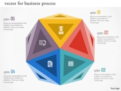 Vector For Business Process Presentation Template
