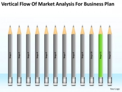 Vertical Flow Of Market Analysis For Business Plan Ppt 11 Startup Plans PowerPoint Slides