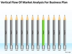 Vertical Flow Of Market Analysis For Business Plan Ppt 8 Fashion PowerPoint Slides