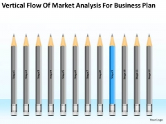 Vertical Flow Of Market Analysis For Business Plan Ppt 9 Need PowerPoint Slides