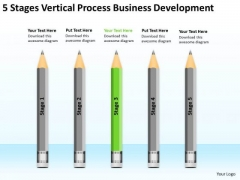 Vertical Process Business Development Ppt 3 Plan For Restaurant Sample PowerPoint Slides
