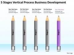 Vertical Process Business Development Ppt Plan Writing Software PowerPoint Templates