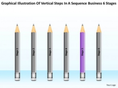 Vertical Steps In Sequence Business 6 Stages Ppt 5 Agricultural Plan PowerPoint Slides