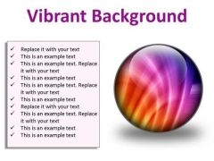 Vibrant Background Abstract PowerPoint Presentation Slides C