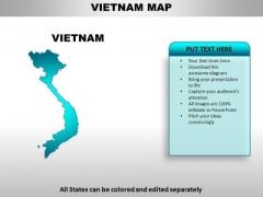 Vietnam PowerPoint Maps