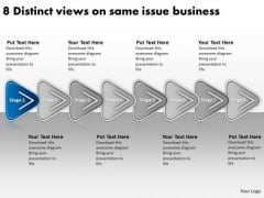 Views On Same Issue Free Business PowerPoint Templates Planning Slides