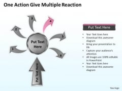 Vision Business Process Diagram Reppt Slides Diagrams Templates PowerPoint