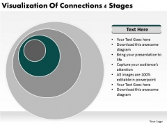 Visualization Of Connections 4 Stages Business Plan PowerPoint Slides