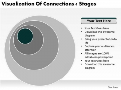 Visualization Of Connections 4 Stages Ppt Business Plan For PowerPoint Slides