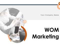 WOM Marketing Ppt PowerPoint Presentation Complete Deck With Slides