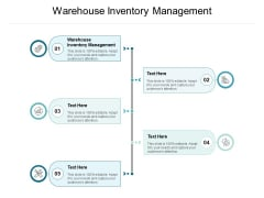 Warehouse Inventory Management Ppt PowerPoint Presentation Professional Graphics Cpb