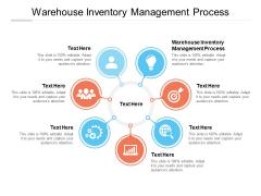 Warehouse Inventory Management Process Ppt PowerPoint Presentation Portfolio Example Topics Cpb