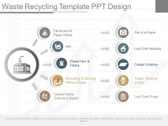 Waste Recycling Template Ppt Design
