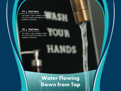 Water Flowing Down From Tap Ppt PowerPoint Presentation Outline Visuals PDF