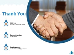 Water NRM Thank You Ppt Styles Information PDF