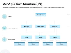 Waterfall Project Prioritization Methodology Our Agile Team Structure Management Formats PDF