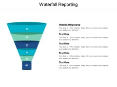 Waterfall Reporting Ppt PowerPoint Presentation Inspiration Show Cpb