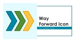 Way Forward Icon Revenue Objective Ppt PowerPoint Presentation Complete Deck With Slides