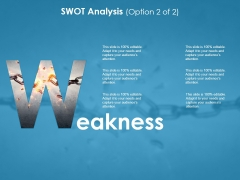 Weakness Ppt PowerPoint Presentation Infographic Template Graphics Template