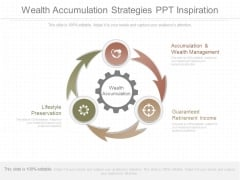Wealth Accumulation Strategies Ppt Inspiration